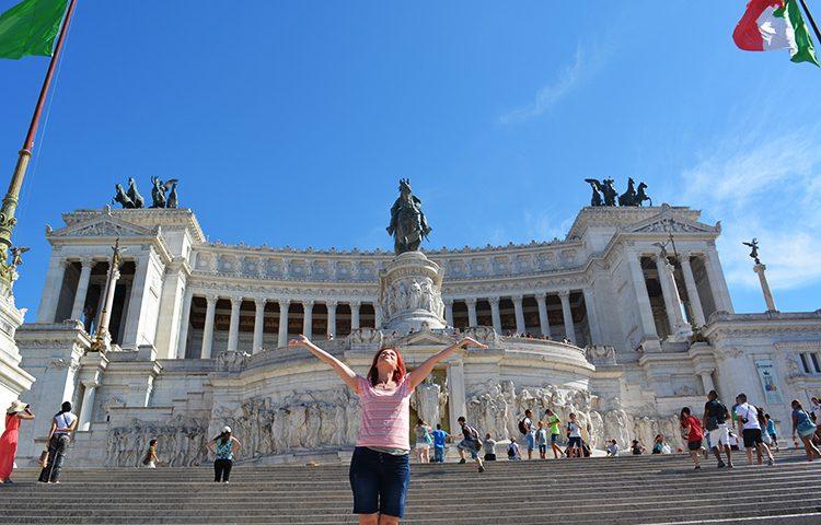 Altarul Patriei sau Il Vittoriano, Roma, Vacanta si Calatorii
