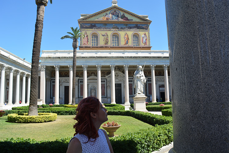 Bazilica Sfantul Pavel, Roma, o minune din afara zidurilor
