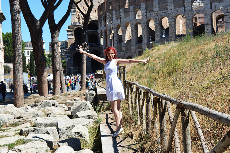 Colosseum Roman amphitheatre, Rome