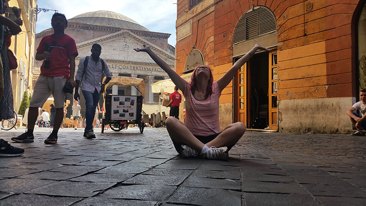 Pantheon, Rome, Holiday and Trips, Living life like a holiday