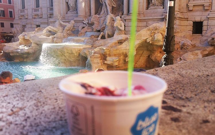 Rome Ice Cream - Fontana di Trevi