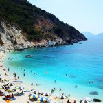 Agiofili Beach, Lefkada island, Holiday and Trips
