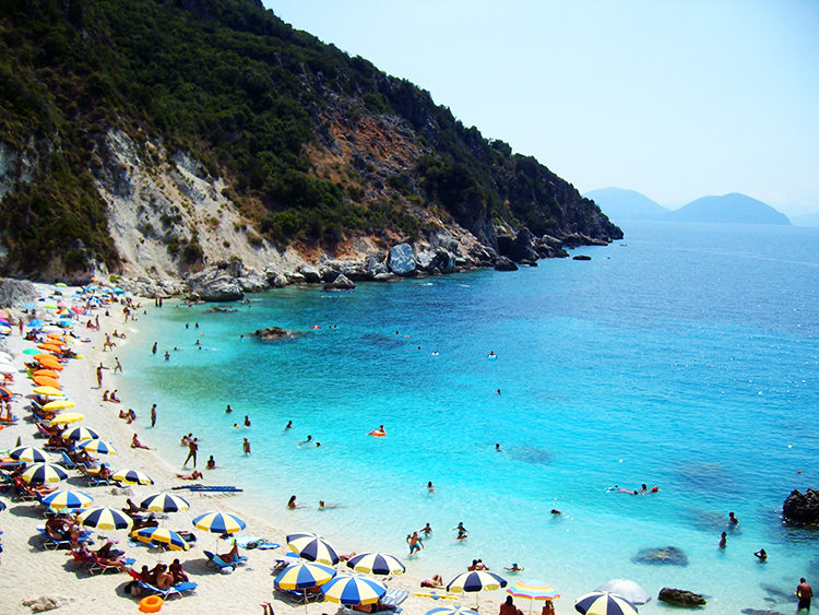 Plaja cu apa turcoaz Agiofili, Lefkada, Vacanta si Calatorii, Viata ca o vacanta