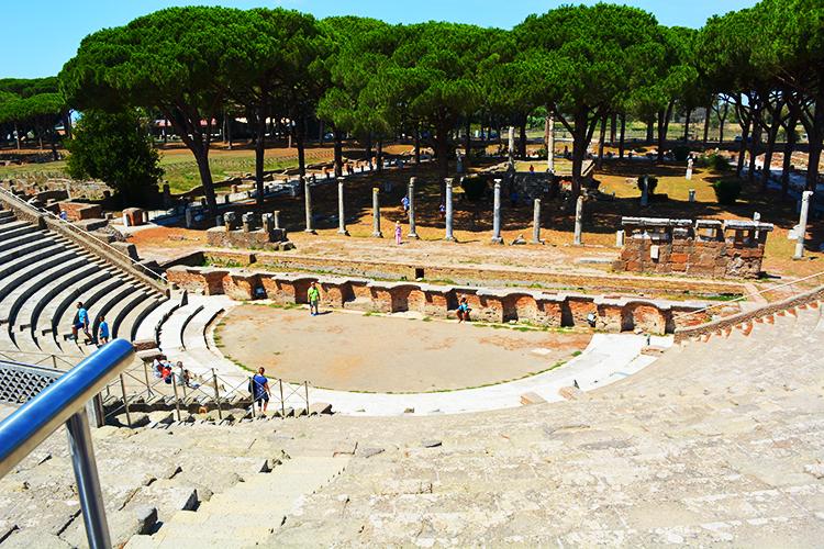 Ostia Antica - portul antic al Romei