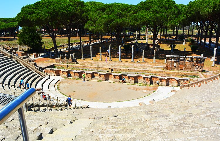 Ostia Antica, Rome, Holiday and Trips