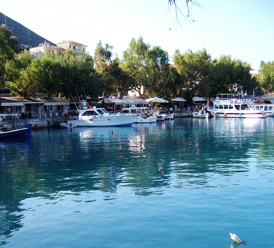 Vasiliki Harbour, Lefkada island, Holiday and Trips