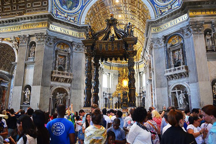 St Peter's Basilica, Vatican, Rome
