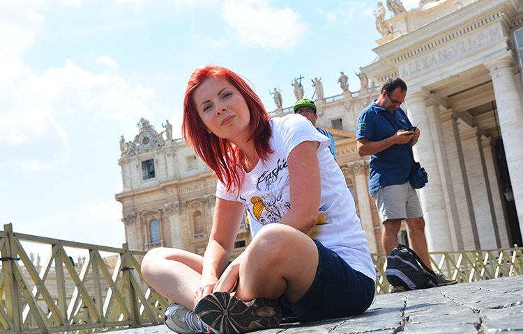 Bazilica Sf Petru, Vatican, Roma   Casa faimoasei Pieta, capodopera lui Michelangelo