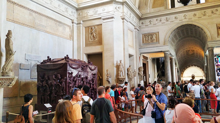 Sarcophagus of Helena, Vatican Museums, Rome, Holiday and Trips