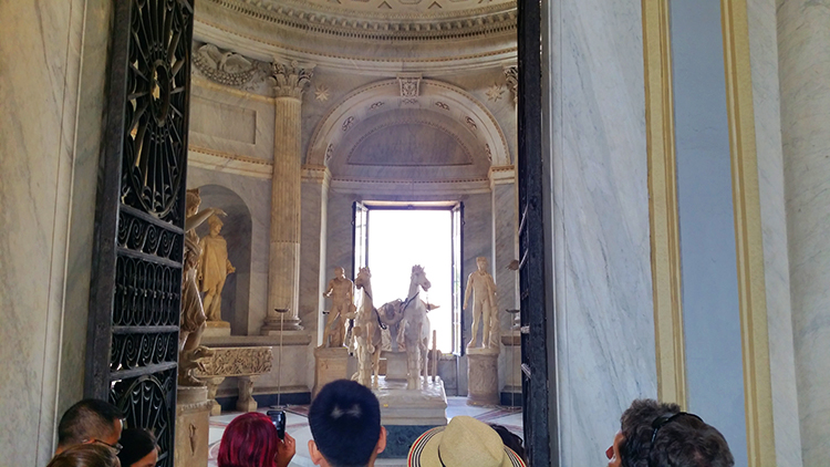 The two-horse chariot, Vatican Museums, Rome, Holiday and Trips, Living life like a Holiday