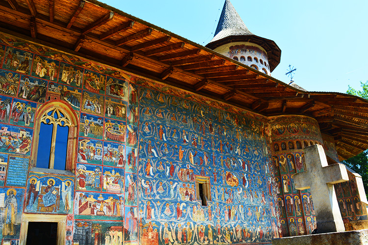 "Voronet Monastery or ""Sistine Chapel of the East"" – where blue will last forever"