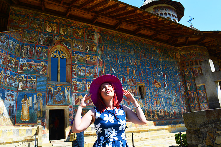 The most beautiful monasteries in Moldova, Romania, Voronet Monastery, Holiday and Trips