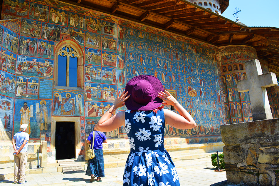 Voronet | Sistine Chapel of the East - the blue that will last forever
