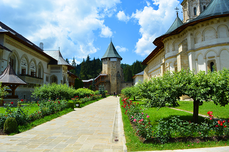 Putna Monastery, Bucovina, Romania | The tomb of Stephen the Great