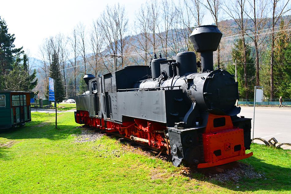 Mocanita, Covasna – narrow-gauge railway in Romania