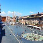 Piata Navona, Vacanta la Roma
