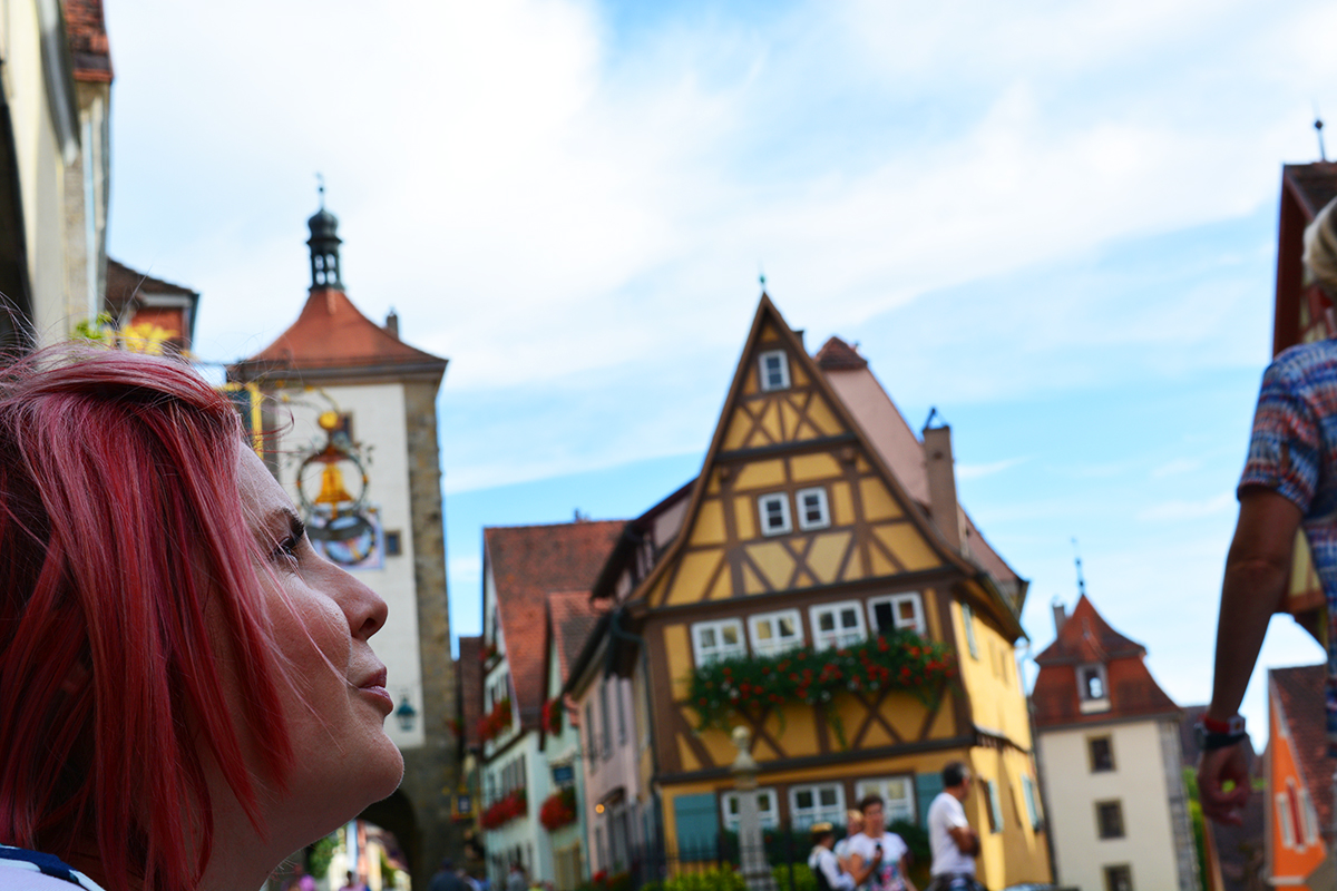 Rothenburg ob der Tauber - fairy tales and Christmas