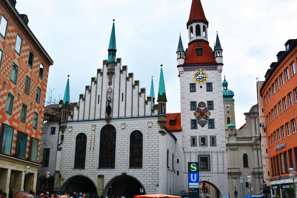Marienplatz Piața Mariei, Munchen
