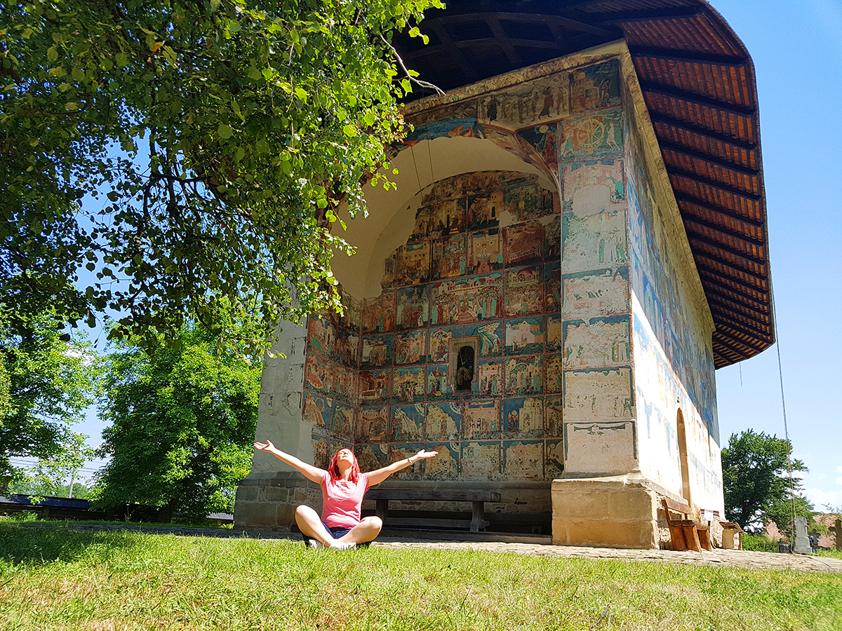 Arbore Monastery, Bucovina