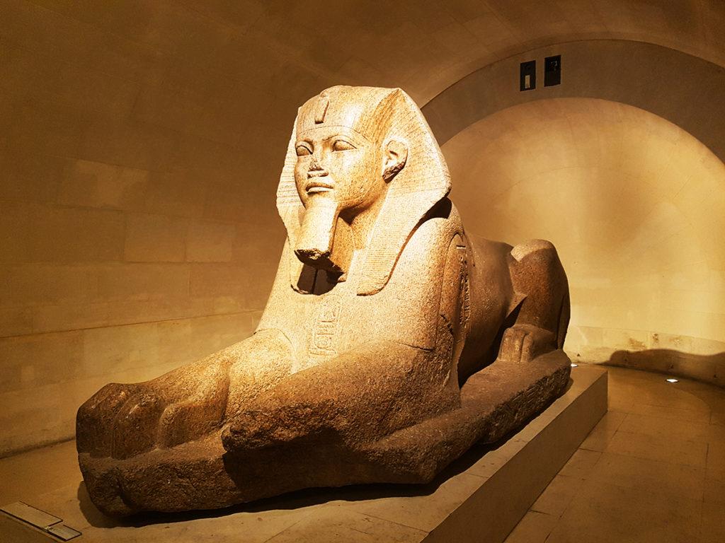 Great Sphinx of Tanis, Louvre, Paris