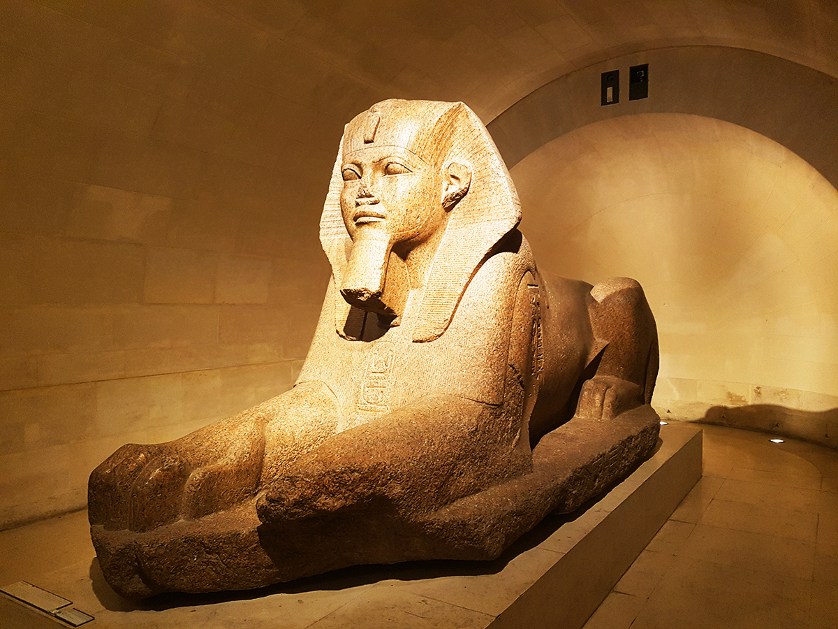 Marele Sfinx din Tanis, Luvru, Paris