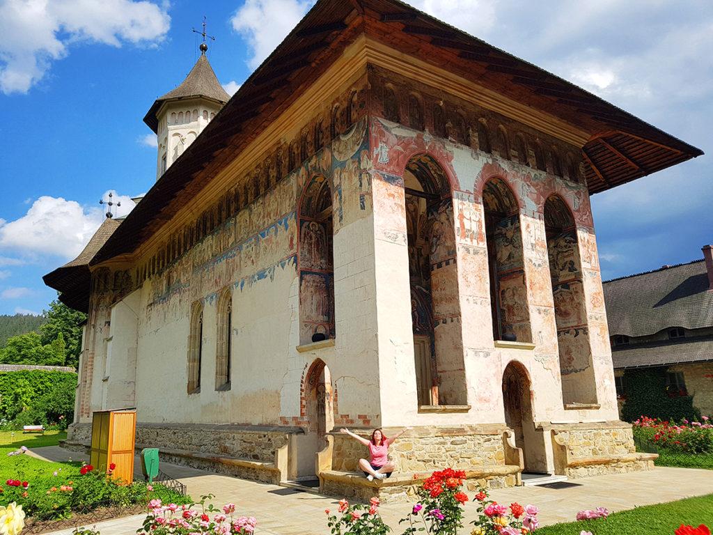 Manastirea Moldovita, Bucovina, Romania Manastirile Pictate