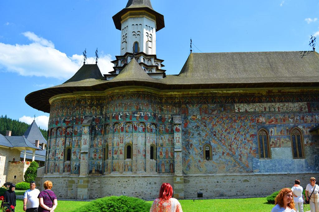 Manastirea Sucevita, Bucovina, Romania Manastirile Pictate