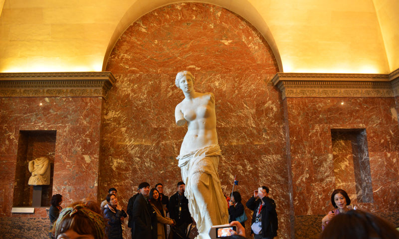 Venus de Milo, Paris, France
