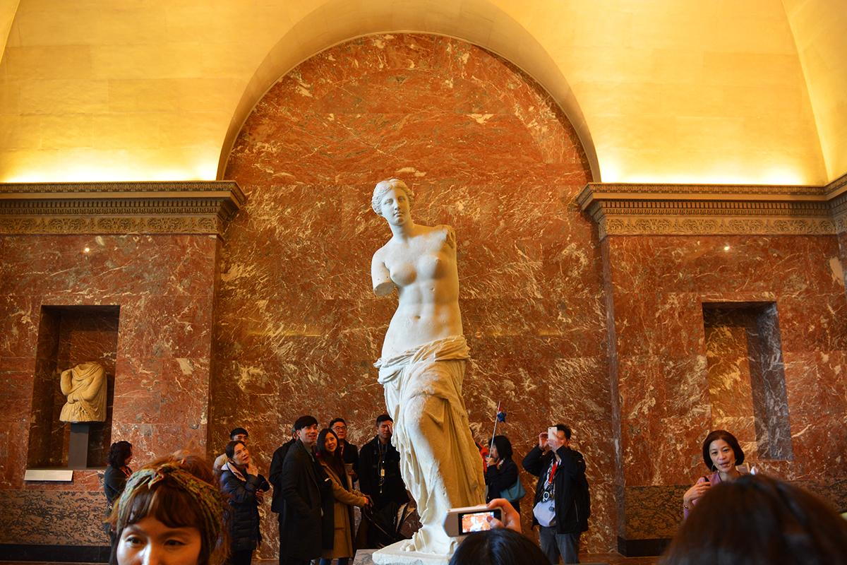 Venus de Milo, Paris, Franta