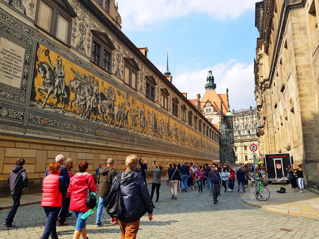 Procesiunea Printilor, Dresda, Germania