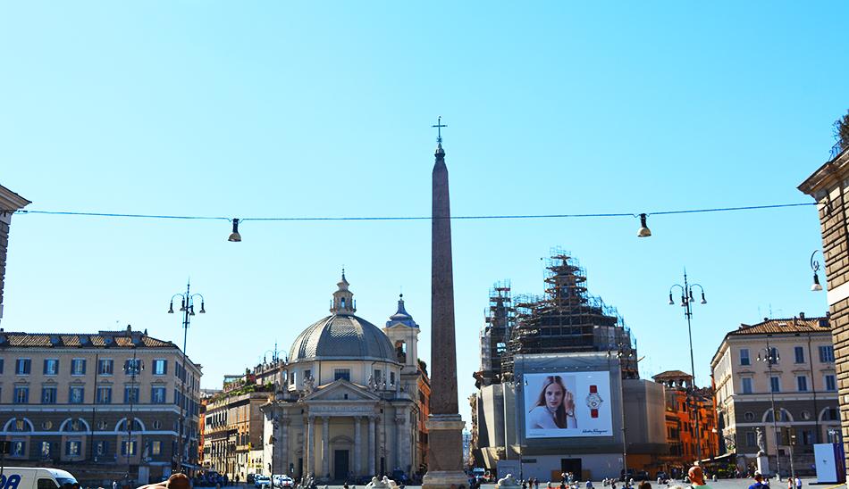 Piazza del Popolo Peoples Square Rome 2