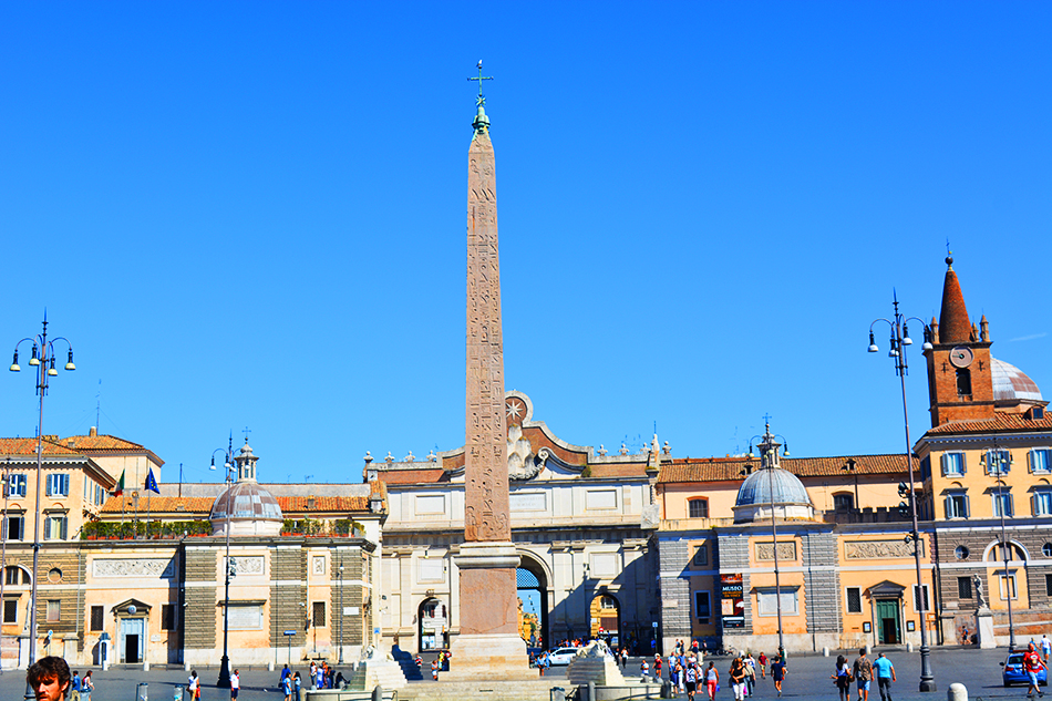 Piazza del Popolo - People's Square, Rome