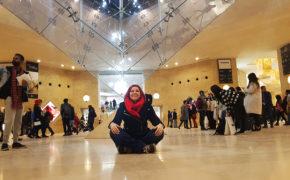 The Inverted Pyramid, Louvre Museum, Paris