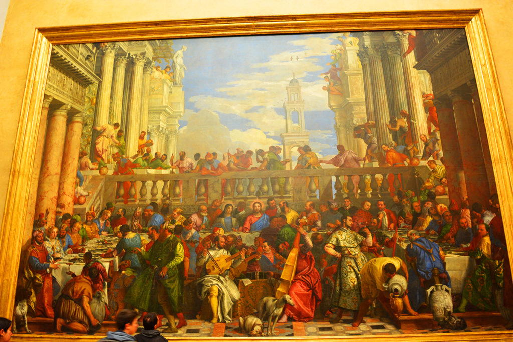 The Wedding at Cana - Les Noces de Cana – By Paolo Veronese, Louvre, Paris