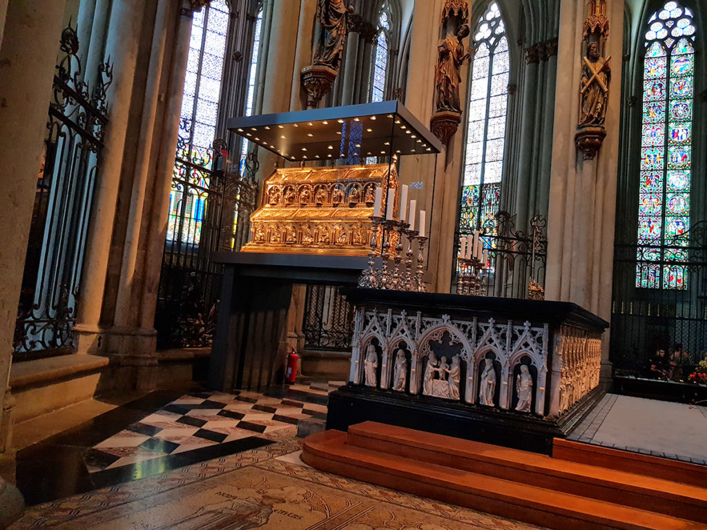 Shrine of the Magi, Cologne Cathedral, Germany