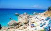 Plaja Megali Petra din Lefkada