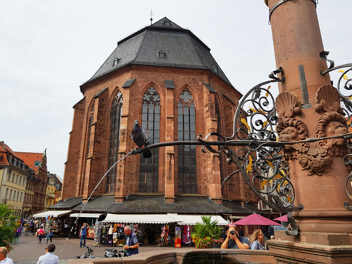 Heiliggeistkirche (Church of the Holy Spirit), Heidelberg, Germany