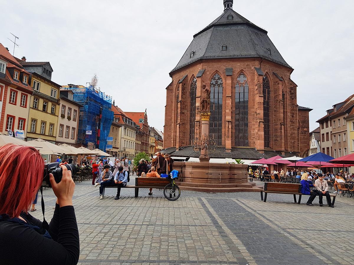 Piata Centrala, Heidelberg, Germania