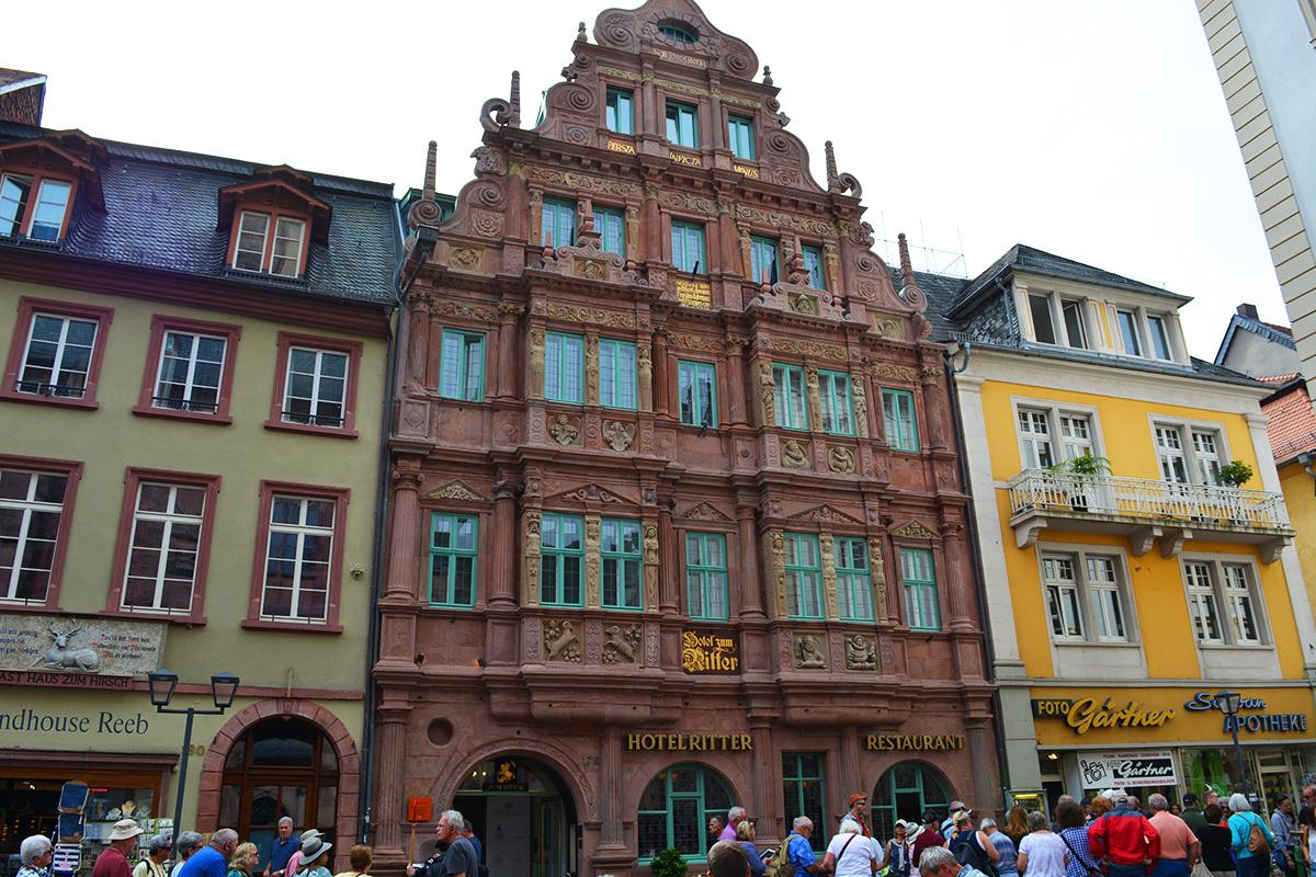 Haus zum ritter (Hotel Zum Ritter St. Georg), Heidelberg, Germany