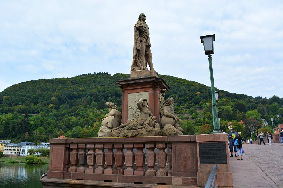 Old Bridge (Karl Theodor Bridge) Heidelberg, Germany
