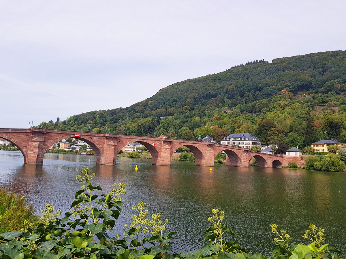 Old Bridge (Karl Theodor Bridge) Heidelberg, Germany