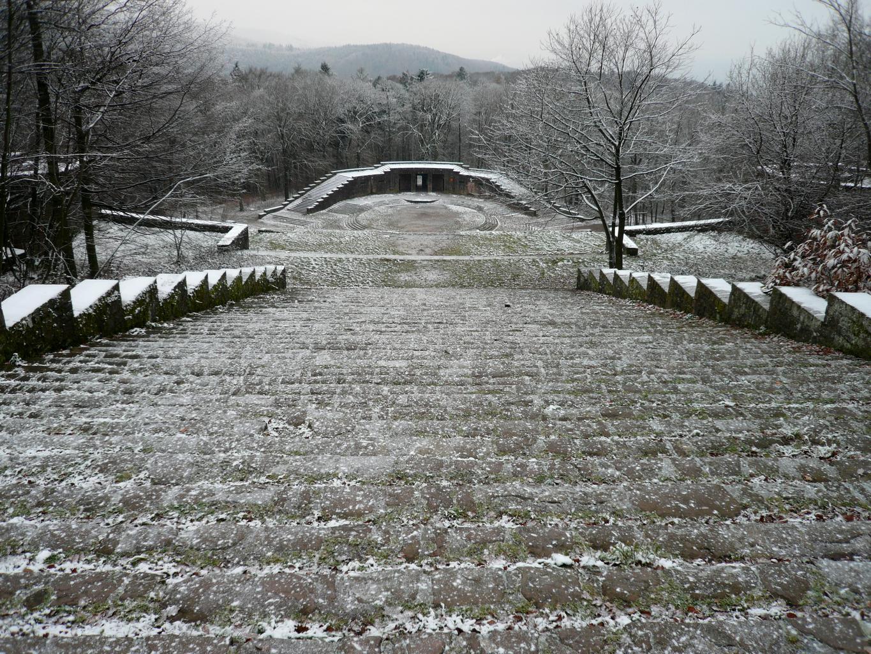 Hidden amphitheater from Heidelberg, Germany