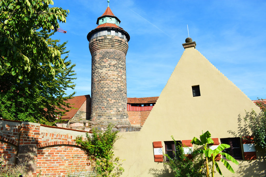 Nuremberg-Germany Kaiserburg Castle