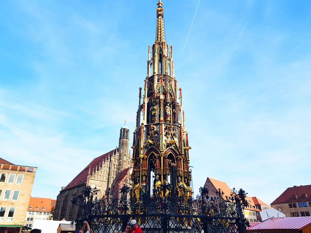 Schöner Brunnen (Beautiful Fountain), Nuremberg, Germany