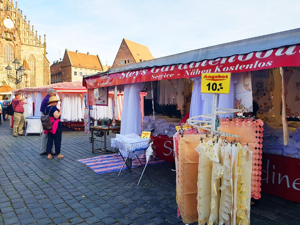 Nuremberg, Germany, Hauptmarkt marketplace