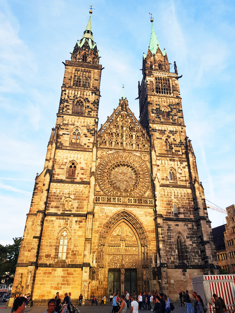 Lorenzkirche (St. Lawrence Church), Nuremberg, Germany