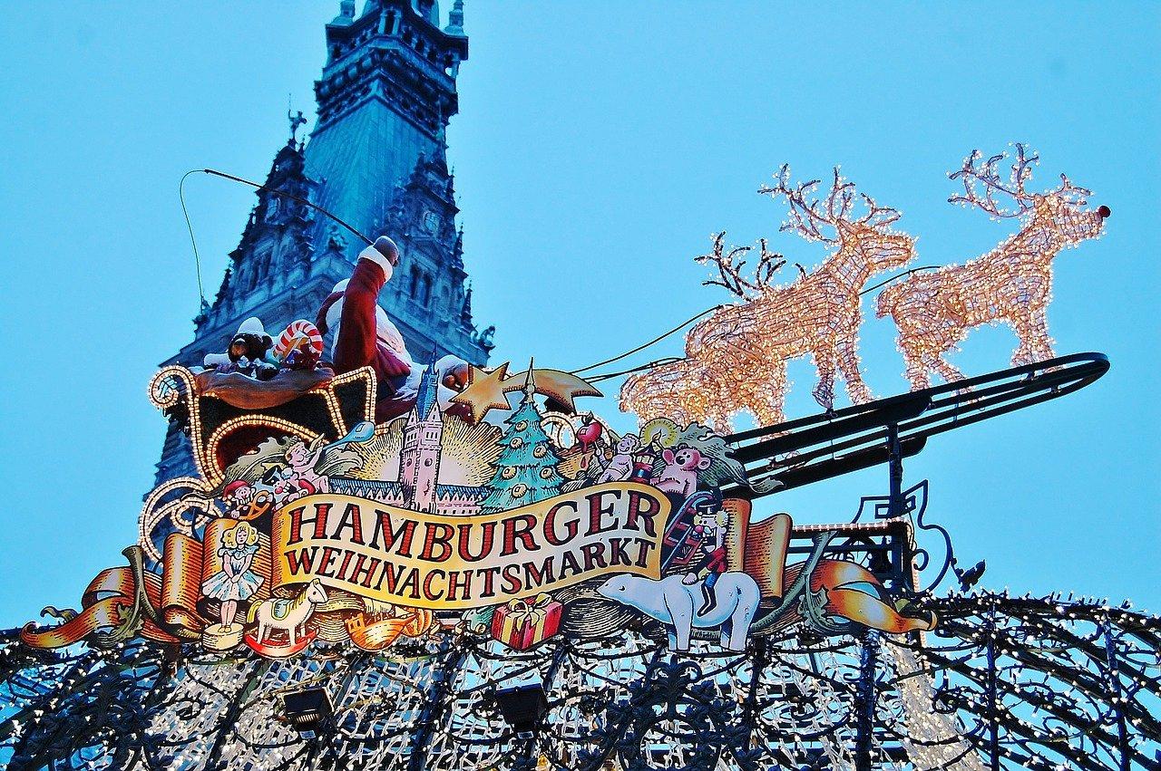 Piata de Craciun din Hamburg