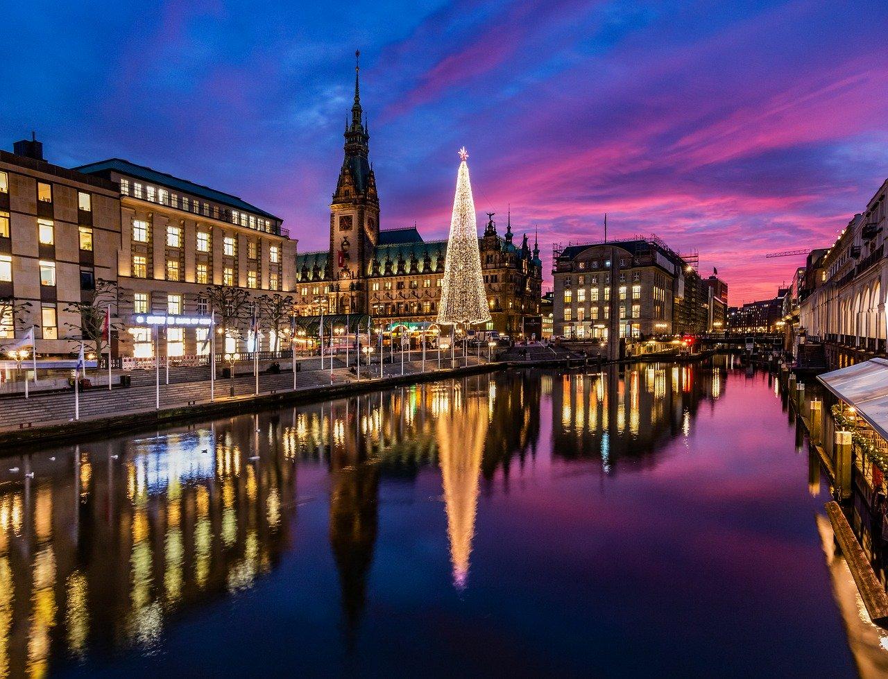 The Gorgeous Hamburg Christmas markets