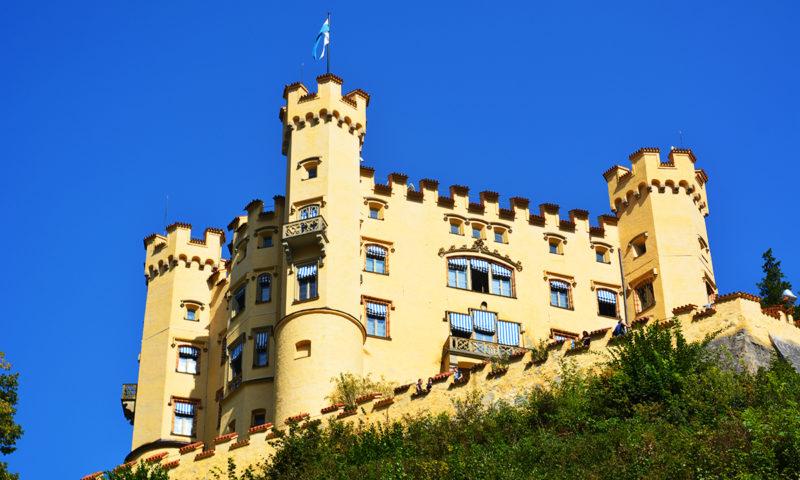 Castelul Hohenschwangau, Bavaria, Germania