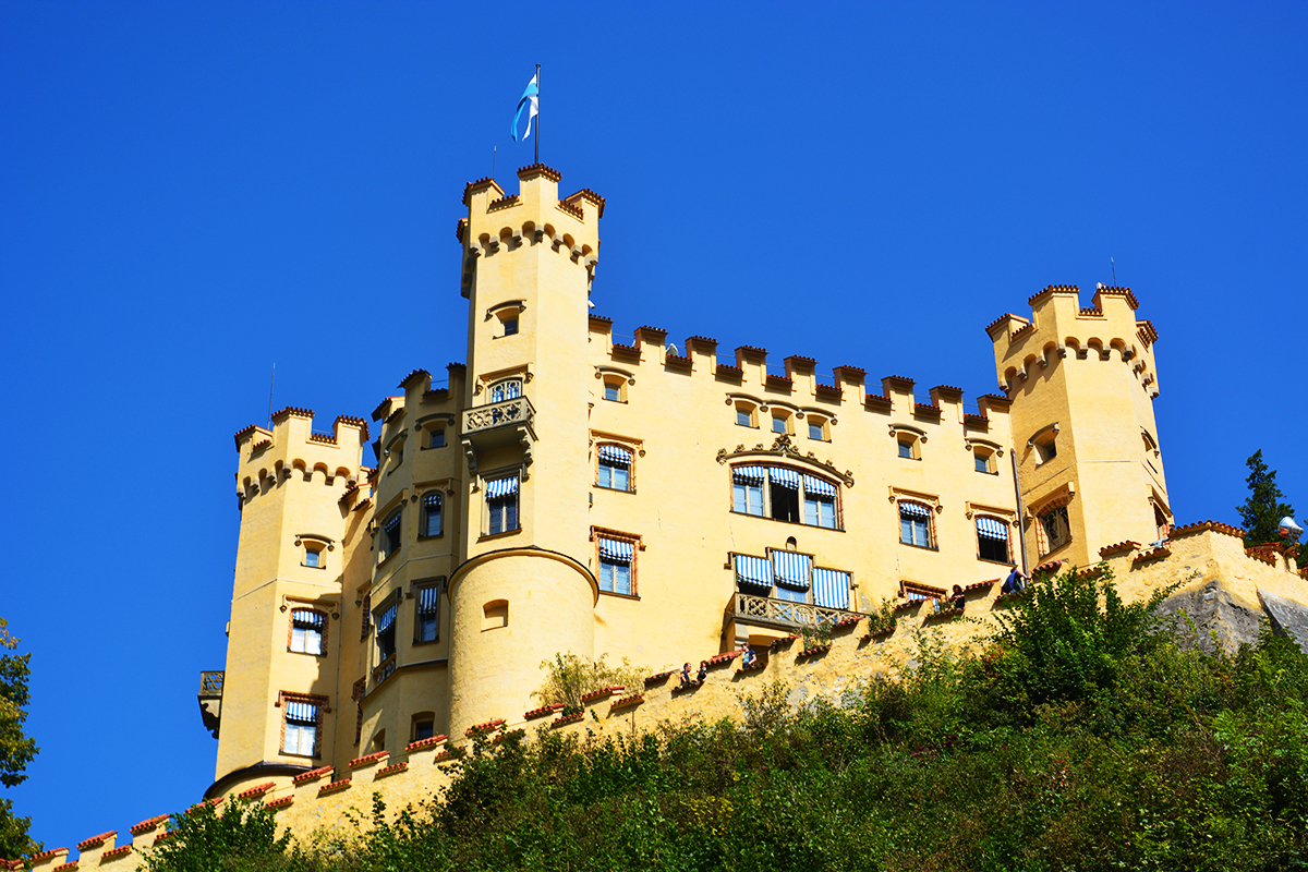 Remarkable Hohenschwangau Castle, Bavaria, Germany